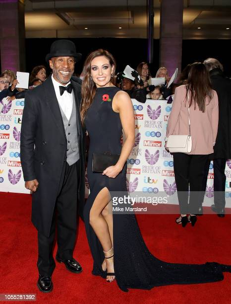 Danny John-Jules and Amy Dowden attend the Pride of Britain Awards 2018 at The Grosvenor House Hotel on October 29, 2018 in London, England.