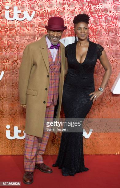 Danny JohnJules arriving at the ITV Gala held at the London Palladium on November 9 2017 in London England