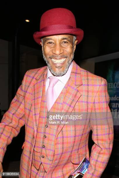 Danny John-Jules attending the Broadcast Awards on February 7, 2018 in London, England.