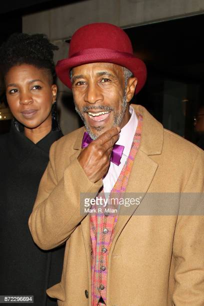 Danny John-Jules attending the ITV Gala afterparty at Aqua on November 9, 2017 in London, England.