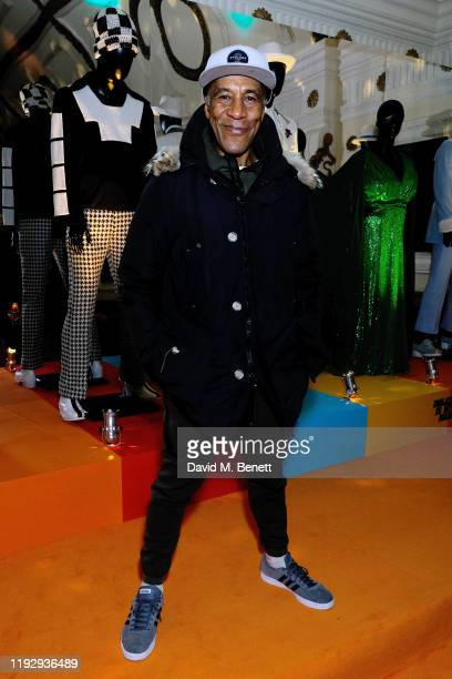 Danny John-Jules attends the 'Dolemite Is My Name' screening & reception at The Electric Cinema on December 09, 2019 in London, England.