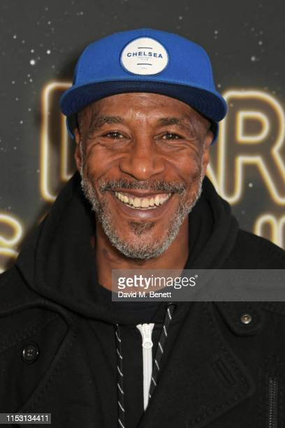 "Danny John-Jules attends the press night performance of ""Dark Sublime"" at Trafalgar Studios on July 1, 2019 in London, England."