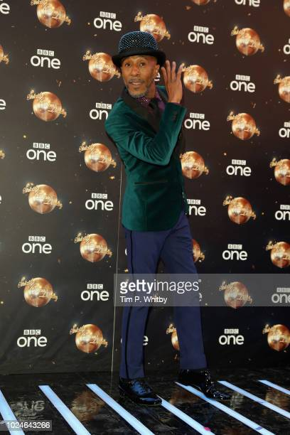 Danny John-Jules attends the red carpet launch for 'Strictly Come Dancing 2018' at Old Broadcasting House on August 27, 2018 in London, England.