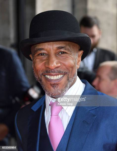 Danny JohnJules attends the TRIC Awards 2017 at the Grosvenor House on March 14 2017 in London United Kingdom