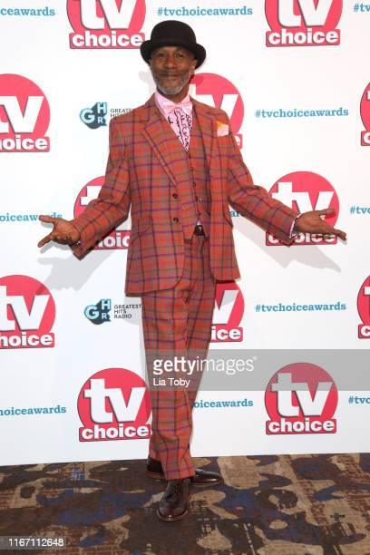 Danny John-Jules attends The TV Choice Awards 2019 at Hilton Park Lane on September 9, 2019 in London, England.