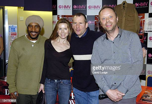 Danny John-Jules, Chloë Annett, Chris Barrie and Robert Llewellyn