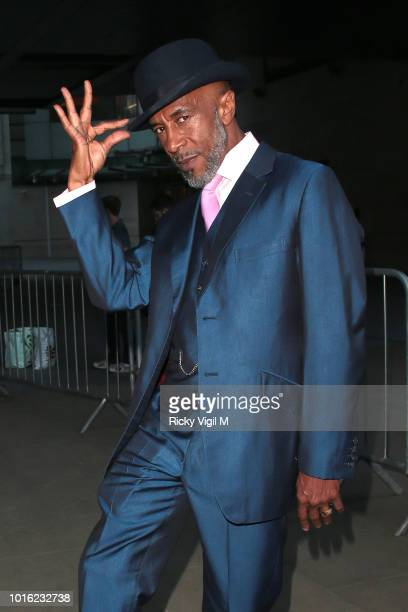 Danny John-Jules seen leaving BBC Broadcasting House after filming The One Show on August 13, 2018 in London, England.