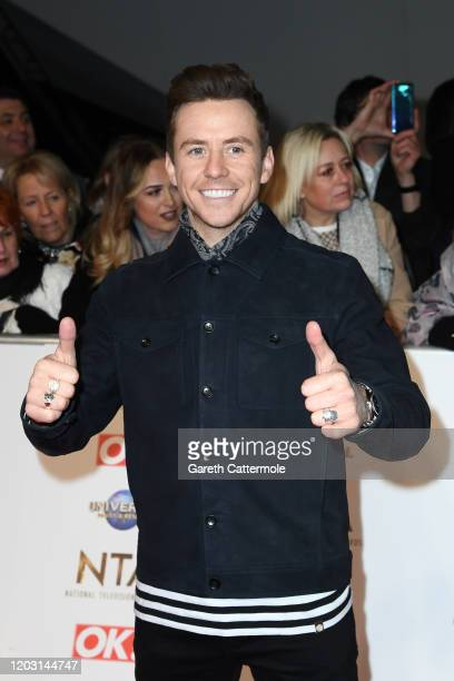 Danny Jones attends the National Television Awards 2020 at The O2 Arena on January 28 2020 in London England