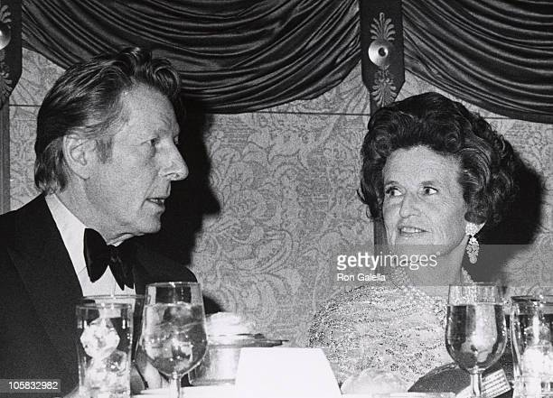 Danny Kaye and Rose Kennedy during Variety Club Award Presented to Danny Kaye at Americana Hotel in New York City New York United States