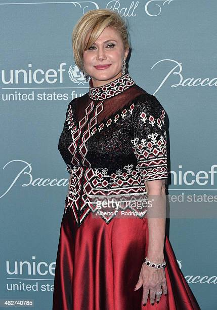 Danny Kaye Humanitarian Leadership Award recipient Ghada Irani arrives to the 2014 UNICEF Ball Presented by Baccarat at the Regent Beverly Wilshire...