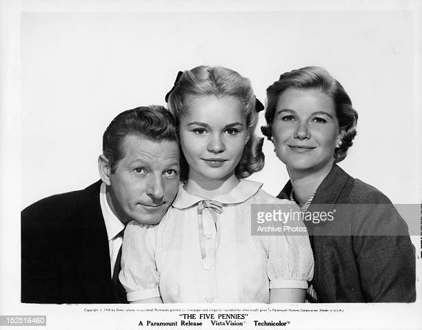 Danny Kaye, Tuesday Weld, and Barbara Bel Geddes publicity portrait for the film 'The Five Pennies', 1959.