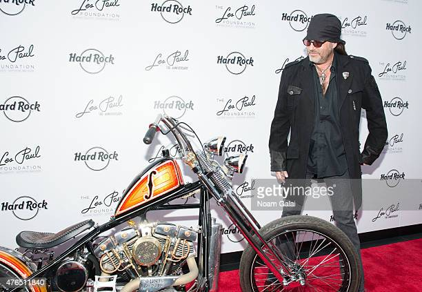 Danny Koker attends Les Paul's 100th anniversary celebration at Hard Rock Cafe Times Square on June 9 2015 in New York City