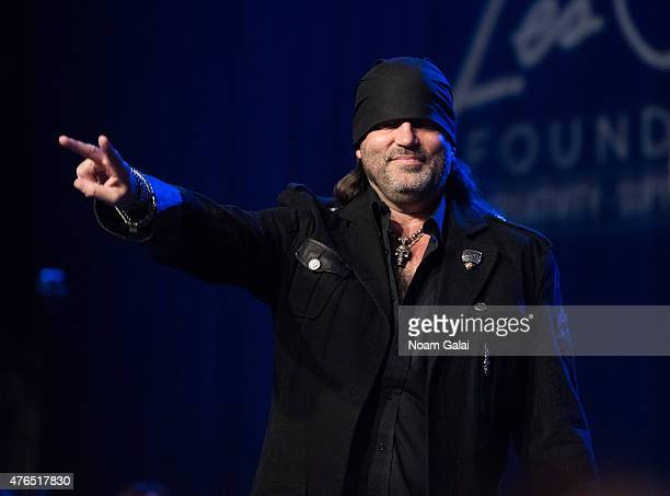 Danny Koker performs during Les Paul's 100th anniversary celebration at Hard Rock Cafe Times Square on June 9 2015 in New York City
