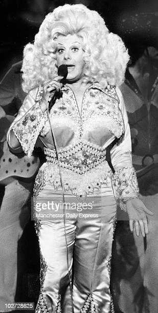 Danny La Rue Danny La Rue during his first appearance on TV in two years