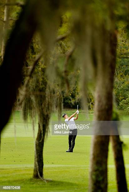 Danny Lee of New Zealand plays a shot from the second fairway during the first round of the Valspar Championship at Innisbrook Resort Copperhead...