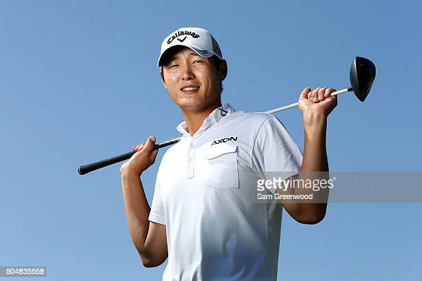 Danny Lee of New Zealand poses during the Sony Open In Hawaii ProAm tournament at Waialae Country Club on January 13 2016 in Honolulu Hawaii