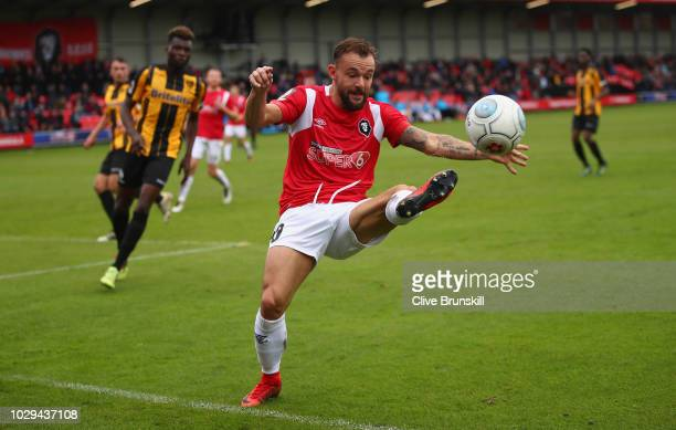 Danny Lloyd of Salford City in action during the Vanarama National League match between Salford City and Maidstone United at Moor Lane on September 8...