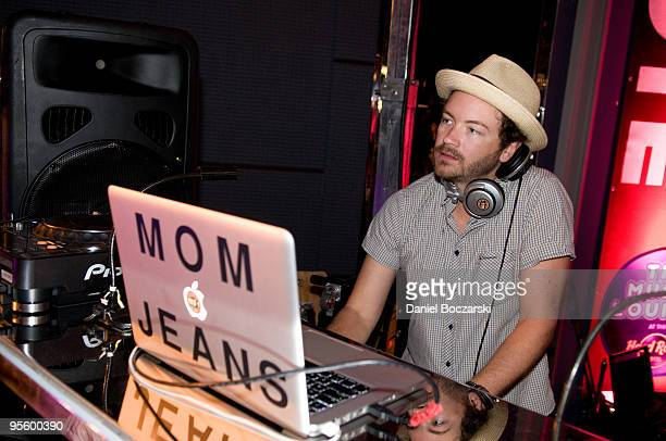 Danny Masterson aka DJ Mom Jeans performs at The Music Lounge At The Hard Rock Cafe on August 29 2009 in Chicago IllinoisUSA
