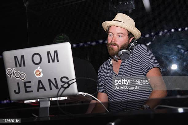 Danny Masterson aka DJ Mom Jeans performs during the Lollapalooza 2013 after party at The Underground on August 4 2013 in Chicago Illinois