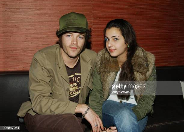 Danny Masterson and Alana Masterson during Good Art Hollywood Trunk Show Hosted by Danny Masterson and Chris Masterson with Laura Prepon at Geisha...