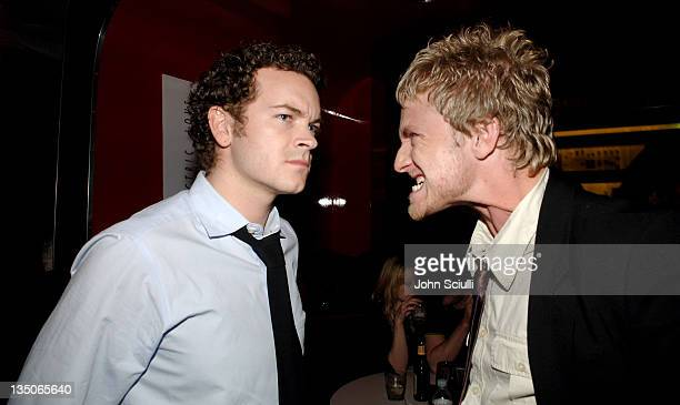 Danny Masterson and Ben Foster during Joy Bryant, Elizabeth Banks and Bijou Phillips Host Mean Magazine Release Party Sponsored by Antik Denim and...