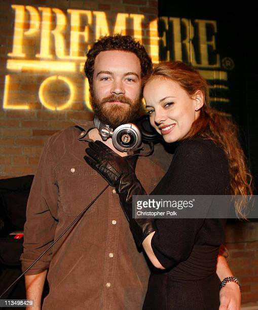 Danny Masterson and Bijou Phillips during 2007 Park City 'Smiley Face' Premiere After Party hosted by Premiere Lounge at Premiere Lounge in Park City...