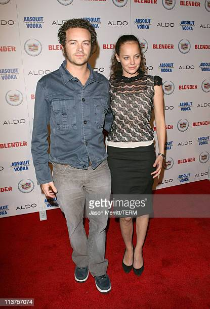 Danny Masterson and Bijou Phillips during Blender Celebrates First Annual Rock Roll Hollywood Issue Arrivals at Private Residence in Hollywood...