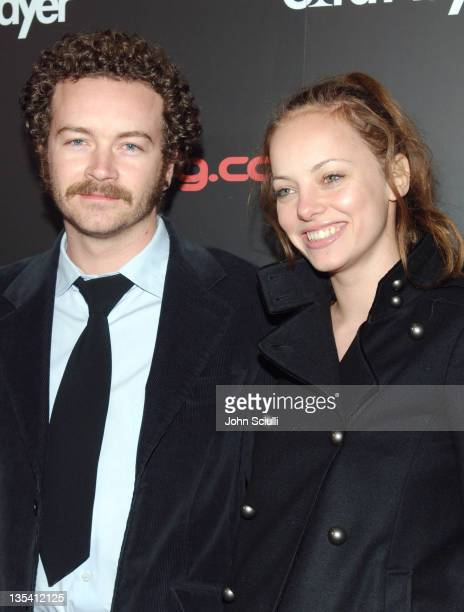 Danny Masterson and Bijou Phillips during Bodog.com Presents Card Player's Player of the Year Awards - Red Carpet at Henry Fonda Theatre in Los...