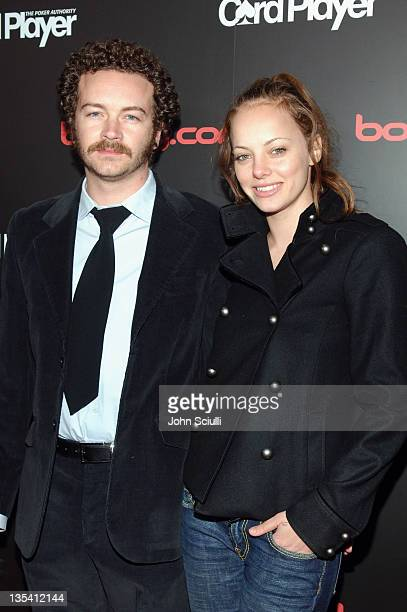Danny Masterson and Bijou Phillips during Bodogcom Presents Card Player's Player of the Year Awards Red Carpet at Henry Fonda Theatre in Los Angeles...