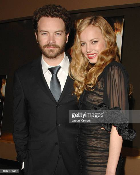 Danny Masterson and Bijou Phillips during Hostel Part II New York City Screening at AMC Theater in New York City New York United States