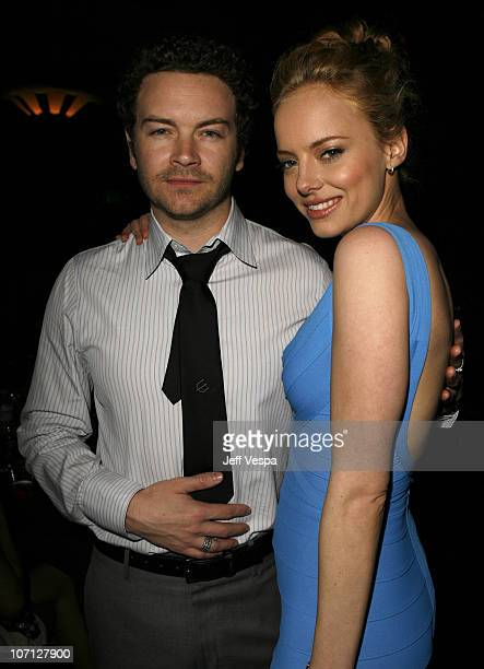 Danny Masterson and Bijou Phillips during Movieline's Hollywood Life 9th Annual Young Hollywood Awards Audience and Backstage at Henry Fonda Theater...