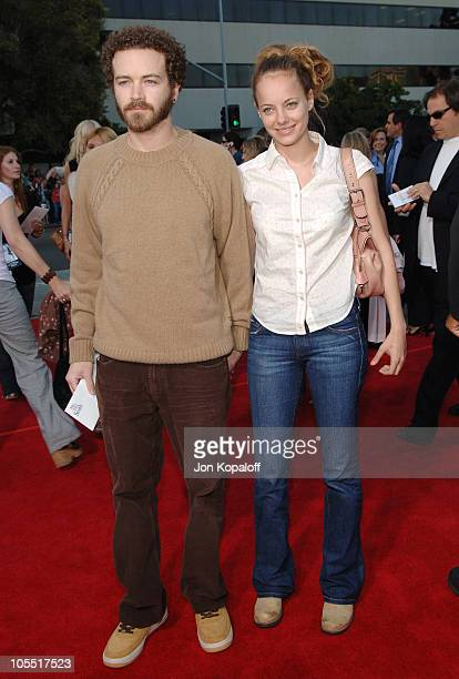 Danny Masterson and Bijou Phillips during Mr Mrs Smith Los Angeles Premiere at Mann's Westwood in Westwood California United States