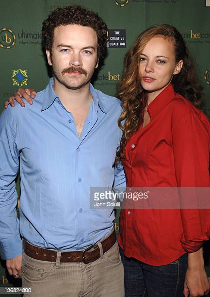 Danny Masterson and Bijou Phillips during Ultimatebetcom Kari Feinstein and Mike McGuiness Host Celebrity Poker Tournament to Honor Clifton Collins...