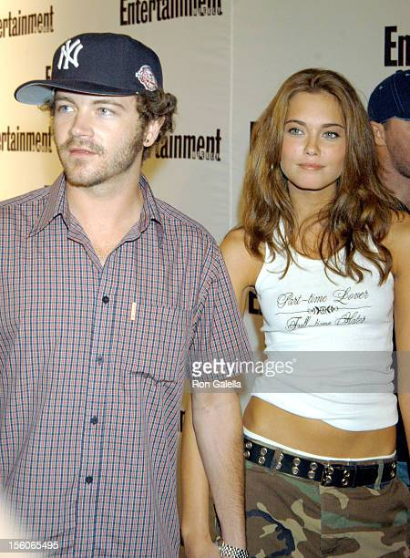 Danny Masterson and Bobette Riales during 2nd Annual Entertainment Weekly 'It List' Party at The Roxy in New York City New York United States