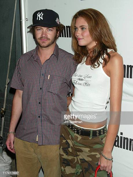 Danny Masterson and girlfriend Bobette Riales during Entertainment Weekly's 2nd Annual It List Party Arrivals at The Roxy in New York City New York...