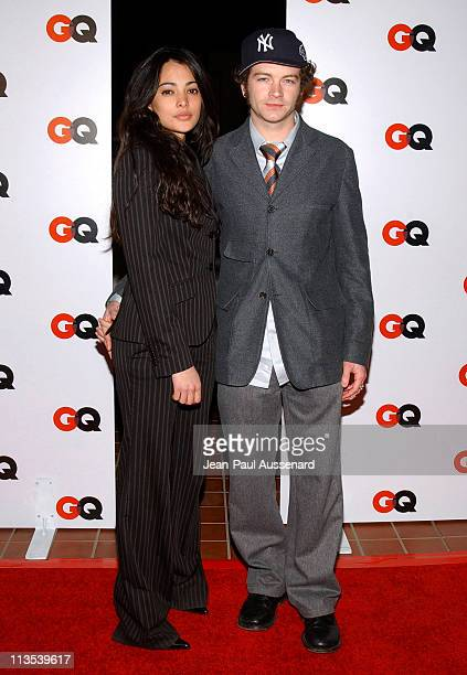 Danny Masterson and guest during GQ Magazine 2004 NBA AllStar Party Arrivals at Astra West in West Hollywood California United States