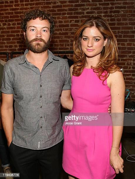 Danny Masterson and Ilaria Urbinati attend the Rebecca Minkoff Shop In Shop event at Confederacy on July 19 2011 in Los Angeles California