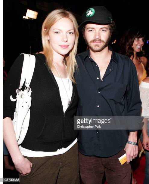 Danny Masterson and Laura Prepon during Hard Rock Hotel and Casino 10th Anniversary Weekend Bon Jovi in Concert Red Carpet Arrivals at The Hard Rock...
