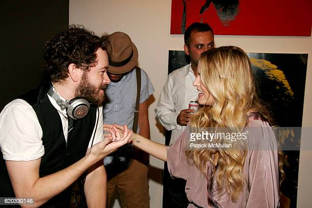 Danny Masterson and Riley Keough attend The Art Of Elysium Presents Rebel Rebel A Special Collaboration With Mick Rock Russell Young at Milk Gallery...