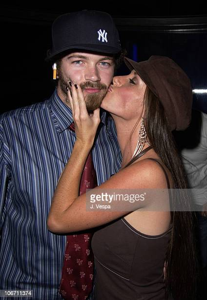 Danny Masterson and Soleil Moon Frye during Nylon Magazine Party to Celebrate the October Issue with Brittany Murphy at The Ivar at Ivar in Los...