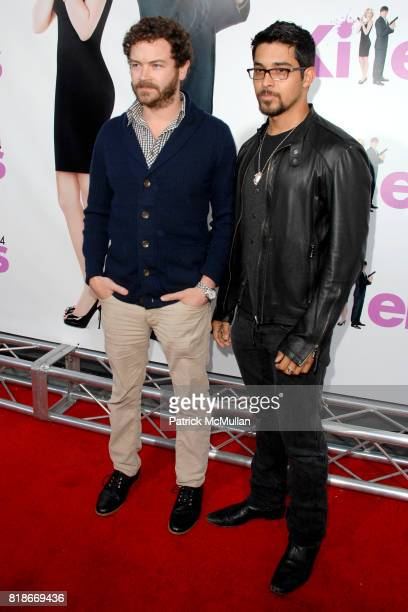 Danny Masterson and Wilmer Valderrama attend 'Killers' Los Angeles Premiere at ArcLight Cinemas on June 1 2010 in Hollywood California