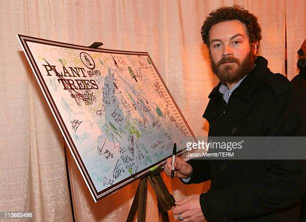 Danny Masterson at Go Zero EXPEDITION ZERO at The Ice Lounge presented by The North Face, Lexus and St. Regis.*Exclusive*