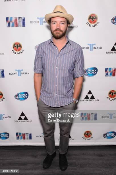 Danny Masterson attends during Lollapalooza Weekend at The Underground on July 31 2014 in Chicago Illinois