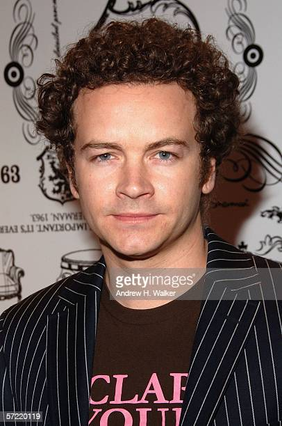 Danny Masterson attends the launch of Ben Sherman's first official US Flagship Store on March 30 2006 in New York City Materson spun music as DJ...