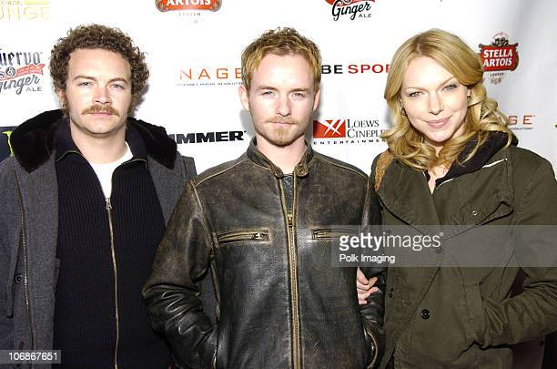 Danny Masterson Christopher Masterson and Laura Prepon
