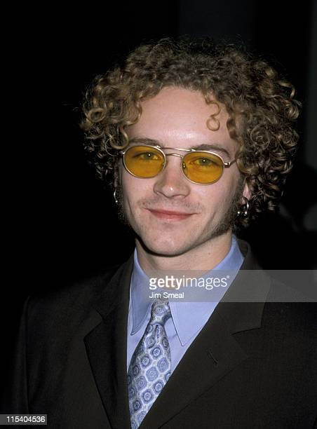 Danny Masterson during 1998 Shine Media Awards at Skirball Cultural Center in Los Angeles California United States