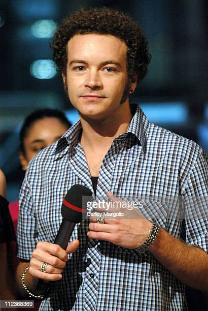 Danny Masterson during Danny Masterson and Senses Fail Visit Fuse's Daily Download September 8 2004 at Fuse Studios in New York City New York United...