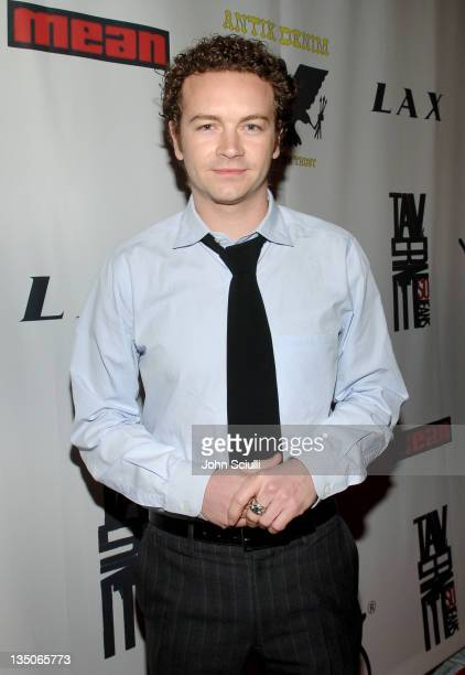 Danny Masterson during Joy Bryant, Elizabeth Banks and Bijou Phillips Host Mean Magazine Release Party Sponsored by Antik Denim and Amp'd Mobile at...
