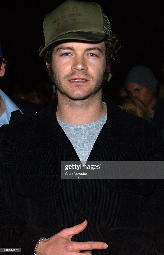 Danny Masterson during Mercedes-Benz 2005 Spring Fashion Week at Smashbox Studios - Petro Zillia - Front Row and Backstage at Smashbox Studios in Culver City, Califonia, United States.