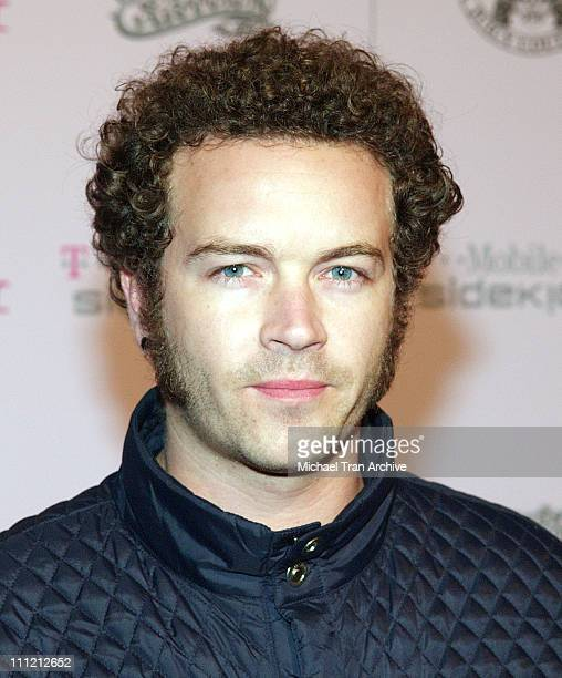 Danny Masterson during T-Mobile Limited Edition Sidekick II Launch - Arrivals at T-Mobile Sidekick II City in Los Angeles, California, United States.